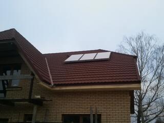 Solar collectors in Murmastiene