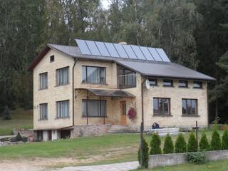 Солнечная система поддержки отопления в Кегумсе