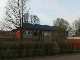 """Saules kolektoru sistēma Ķekavas bērnudārzā """"Ieviņa"""""""